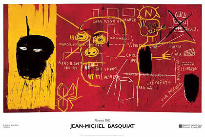 Florence (Rare Poster) by Jean-Michel Basquiat - Graffiti/Urban Art Poster