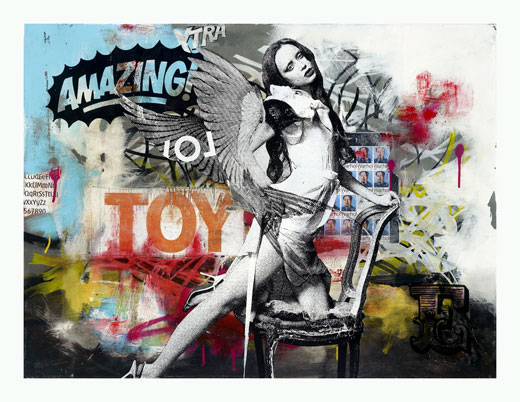 Ben Allen Art Print for Sale - Love Toy - Limited to 100 Signed