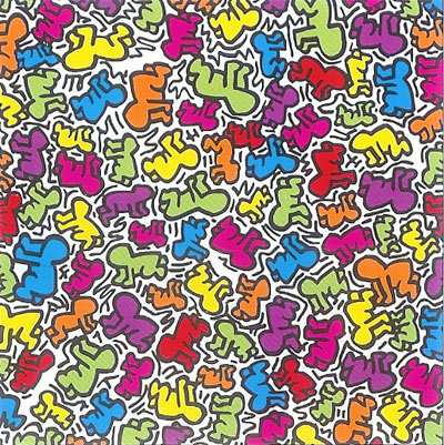 Keith Haring print poster for sale