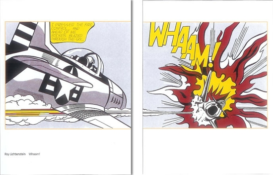 Roy Lichtenstein Art Poster Print  - Whaam - The Legendary Pop Artist