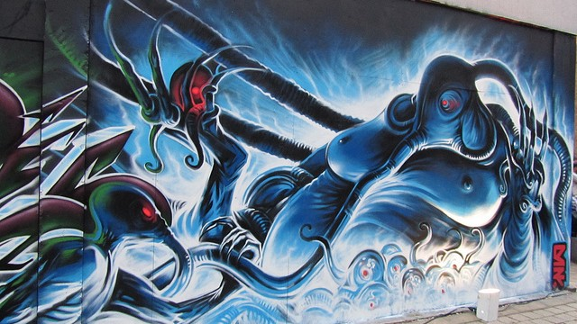 Meeting Of Styles – London 2011 – Graffiti