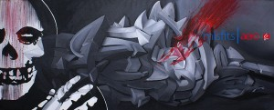 ASIE ONE 3d graffiti - Indonesia 2010
