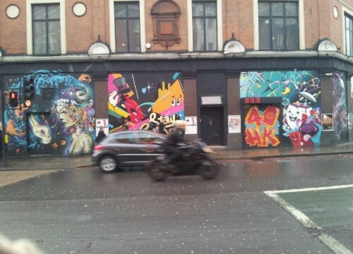 London Hoxton old street 2012 graffiti