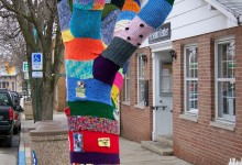 Corrine & Nancy AKA Jafabrit – Yarn Bombing, Knit Graffiti