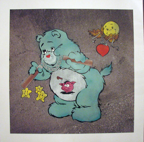 eine-graffiti-street-art-london-urban-art-care-bear