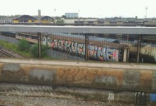 SO MUCH TIME – May 2012 Train Graffiti – Willesden Junction