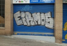 Barcelona Graffiti – Spain throw ups & tags November 2012