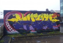 Galway Graffiti – Temporary Wall, Ireland 2013 (January) – Part 2