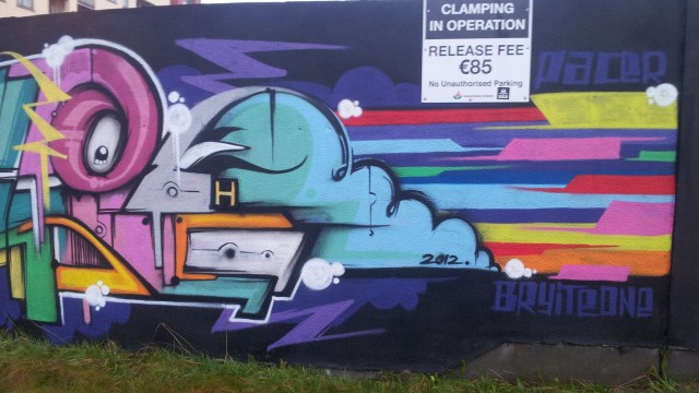 Galway Graffiti Wall – Ireland 2013 – Part 3