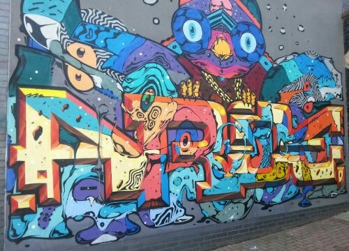 Brighton Graffiti 2013